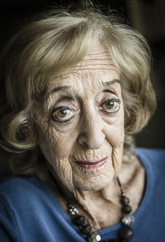 Rut Berlinger är en av de sista överlevarna från Förintelsen.