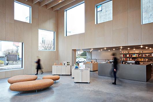 Den nya entrén till Skissernas Museum. Foto: Johan Persson