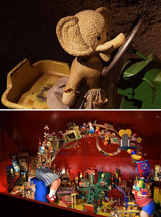 Den som inte dras med av lekfullheten i estetiken har nog mist sitt barnasinne för gott.  Foto: Irène Karlbom Häll