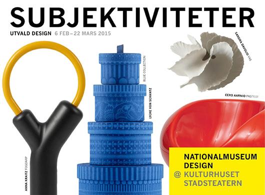 Poster Nationalmuseum Design@Kulturhuset Stadsteatern.