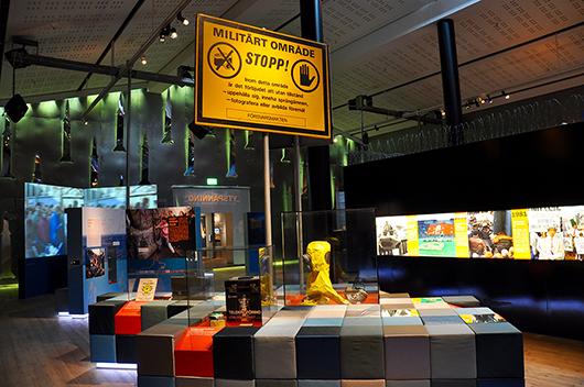 Ytspänning – kallt krig i Östersjön 1979–89 är en utställning som både väcker inlevelse och skapar förståelse hos besökaren.