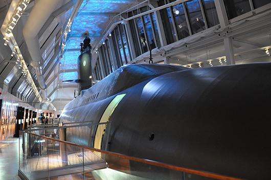 HMS Neptun kunde ha fortsatt sin hemliga undervattensverksamhet än i dag men i stället har denna ubåt omvandlats till gigantiskt museiföremål.