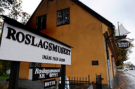 Från 1920-talet och framåt har det gamla gevärsfaktoriet varit liktydigt med Roslagsmuseet. Foto: Anette Jansson-Bougt