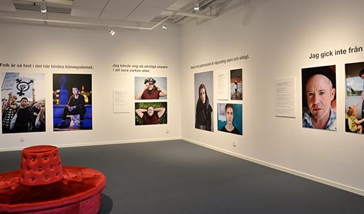 Störst utrymme i utställningen får några av dem som annars sällan hörs eller syns.