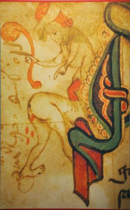 En typisk bestraffning på medeltiden – eller kanske något helt annat?