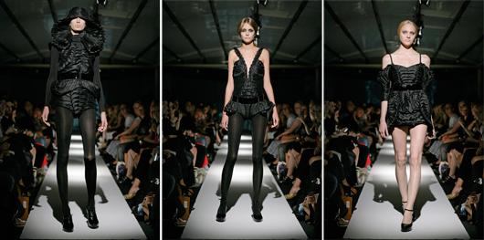 Helena Hörstedt skapar kläder i en svart helhet fjärran från dagsländornas modehimmel.  © Helena Hörstedt