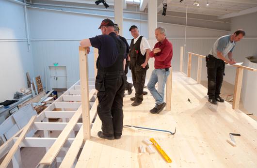 """Att våga bygga på höjden var en lyckad idé. Curt Nordlanders """"gubbar"""" löste problemen."""