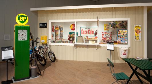 Det var kring kiosken man hängde under moppeålderns ändlösa sommarkvällar. Foto: Björn Grankvist, Murberget Länsmuseet Västernorrland