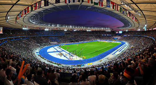 Berlins Olympiastadion. Foto: Tobi 87, CC-BY 3.0