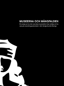 Omslaget till Riksutställningars rapport.