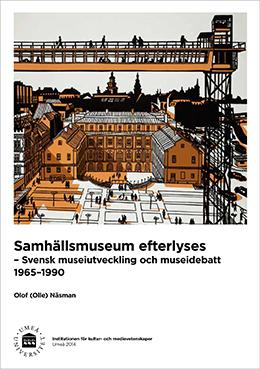 Omslag till Olle Näsmans doktorsavhandling.  Bild (delvis beskuren): Svenolov Ehrén