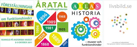 Fyra skrifter gavs ut under HAIKU-åren. Omslag: Katarina Lindahl