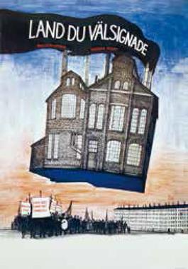 Affisch Land du välsignade 1973. Riksutställningars fotoarkiv
