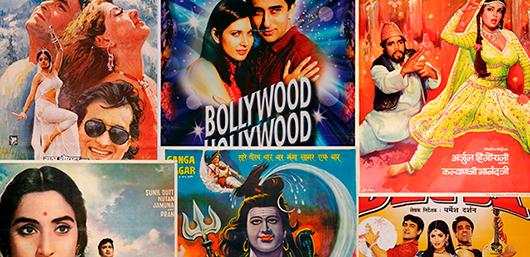 Med hundratals producerade filmer per år och en årlig publik på nästan 4 miljarder människor, är Bollywood världens största filmindustri och en gigantisk exportsuccé för Indien. Utställning på Världskulturmuseet i Göteborg. Foto: Världskulturmuseet, Göteborg