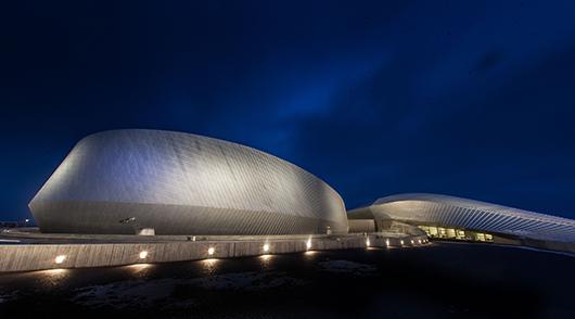 Som en virvelström – Danmarks akvarium med Den blå planet. Foto: Per Fløng