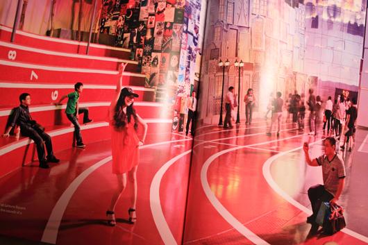 Foto ur boken, taget på världsutställningen i Shanghai.