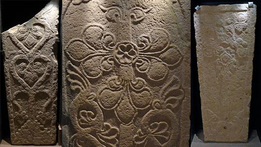 Vilken innebörd hade de medeltida liljestenarna? Museet presenterar olika teorier.