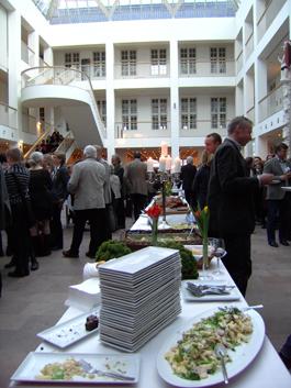 Fest på Danmarks Nationalmuseum. Foto: Ingrid Blomkvist