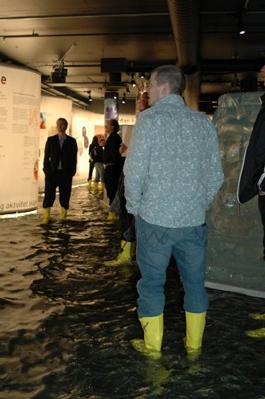 Klima X på Norsk Teknisk museum i Oslo öppnades 2007 och pågår fortfarande. Foto: Norsk Teknisk museum