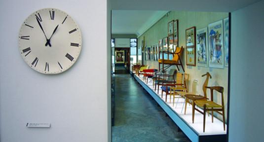 Blond dansk design på Kunstindustrimuseet i Köpenhamn. Foto: Camilla Annerfeldt.