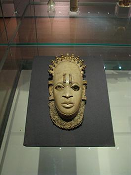 The Sainsbury African Galleries, British Museum. The Ife head. Foto: Staffan Lundén