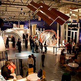 Utställningen Ett rymdäventyr på Tekniska museet är en förlängning av propagandan från kallakrigets dagar. Foto:Tekniska museet