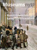 Museumsnytt 2010:1 har som omslagsbild Christian Krohgs målning Kampen för tillvaron 1888-89.