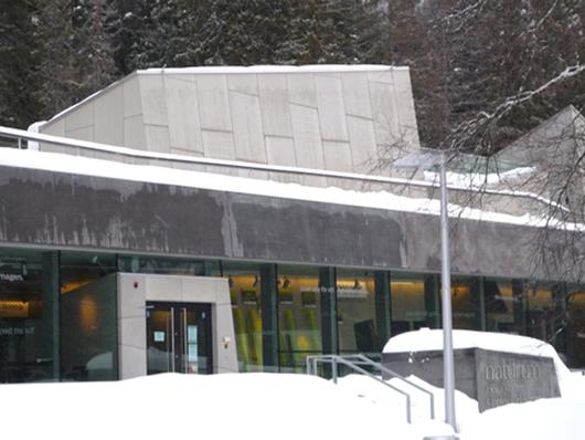 Huset en vinterdag 2009.