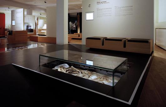 En vikingakvinnas grav. Foto Islands nationalmuseum.